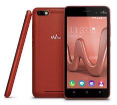 Wiko GSM telefon Lenny 3, rdeč