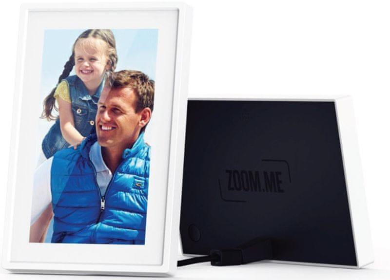 """ZOOM.ME Wi-Fi / 3G / router - 7"""" digitální fotorámeček - II. jakost"""