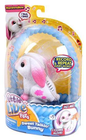 Little Live Pets zajček Marshmallow S2