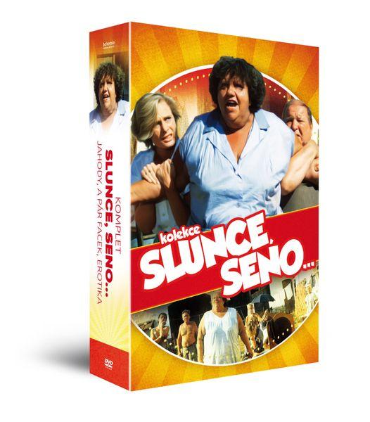 Komplet Slunce, seno… (3DVD) - DVD