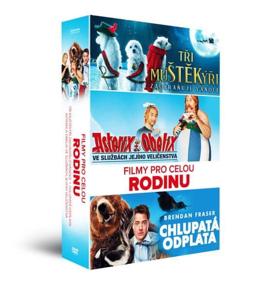 Filmy pro celou rodinu (3DVD) - DVD