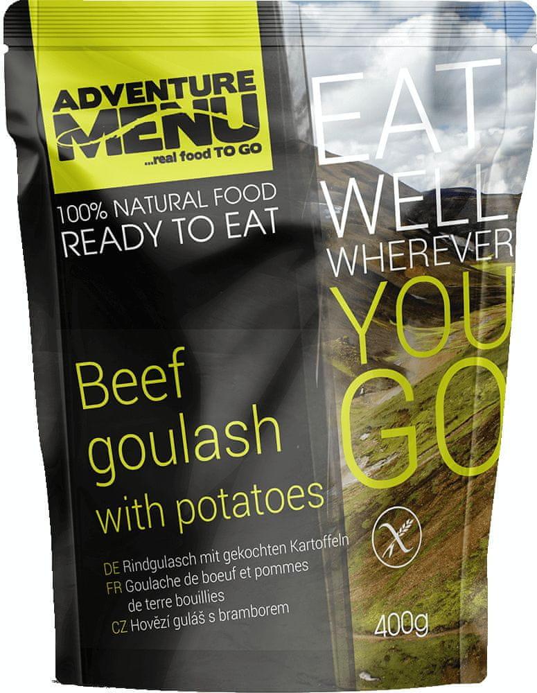 Adventure Menu Hovädzí guláš so zemiakmi