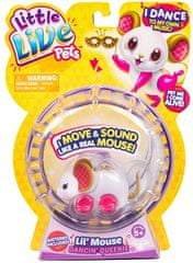 Little Live Pets miška Dancin Queenie S3