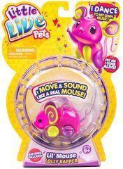 Little Live Pets miška Lolly Rapper S3