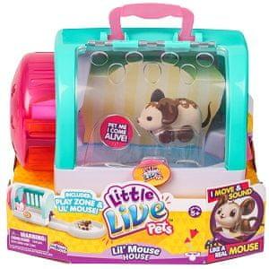 Little Live Pets miška s hiško Chop Bop S3