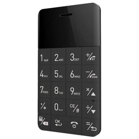Elari GSM telefon Cardphone, črn