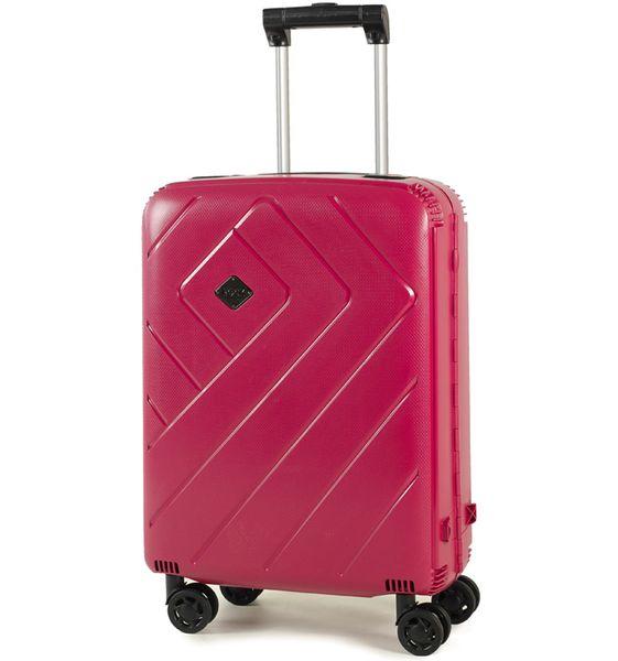 REAbags Palubní kufr Rock Shield S růžová