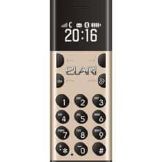 Elari GSM telefon Nanophone, zlat