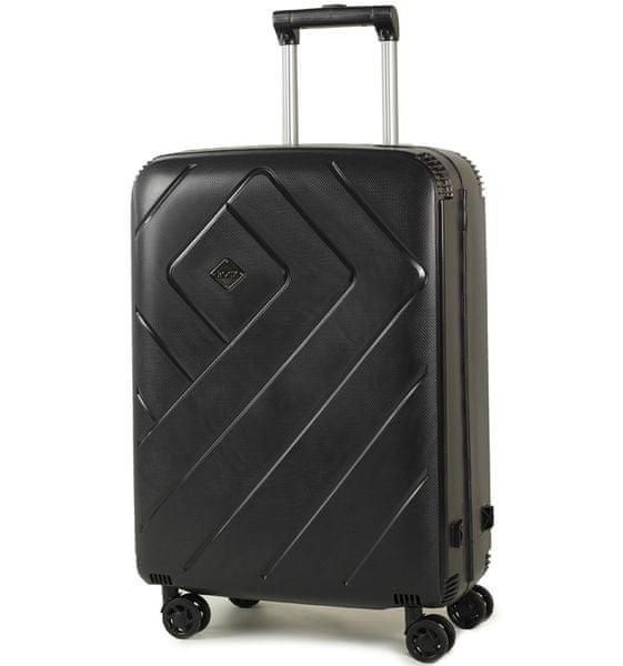 Rock Cestovní kufr Shield M, černá