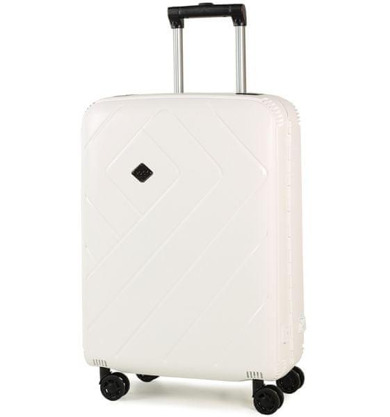 Rock Cestovní kufr Shield M, bílá