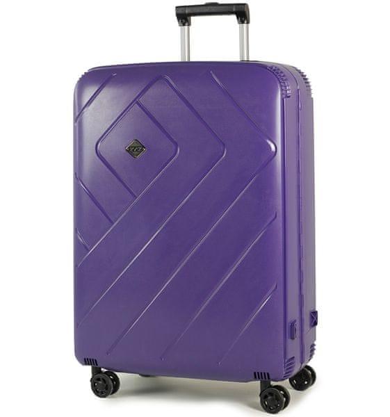 REAbags Cestovní kufr Rock Shield L fialová