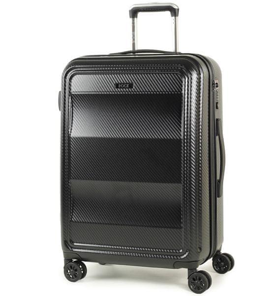REAbags Cestovní kufr Rock Amethyst M černá
