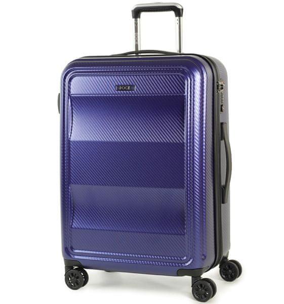 REAbags Cestovní kufr Rock Amethyst M modrá