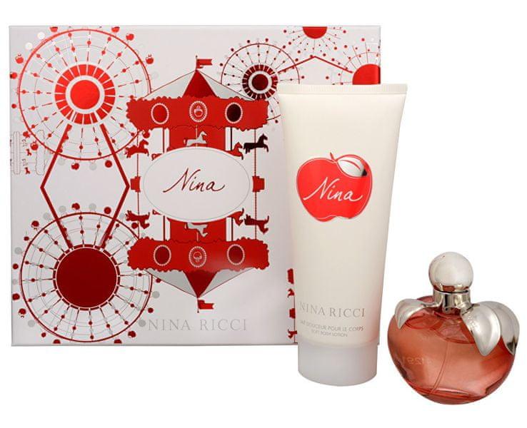 Nina Ricci Nina - EDT 80 ml + tělové mléko 200 ml