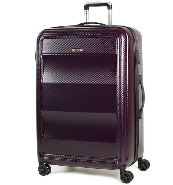 REAbags Cestovní kufr Rock Amethyst L fialová