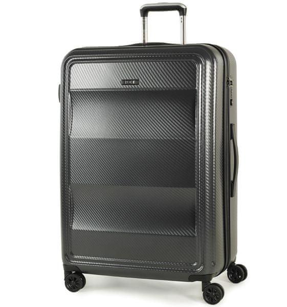 REAbags Cestovní kufr Rock Amethyst L antracitová