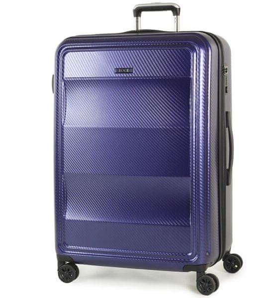 REAbags Cestovní kufr Rock Amethyst L modrá