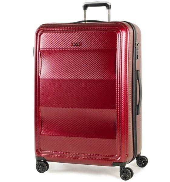 REAbags Cestovní kufr Rock Amethyst L červená
