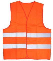 Varnostni telovnik, odsevni - XL oranžni