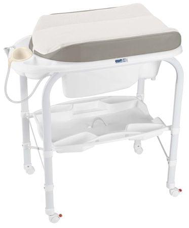 CAM previjalna miza Cambio Soft, svetlo siva