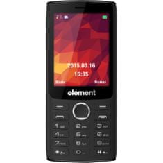 SENCOR Element P030 Mobiltelefon, Fekete