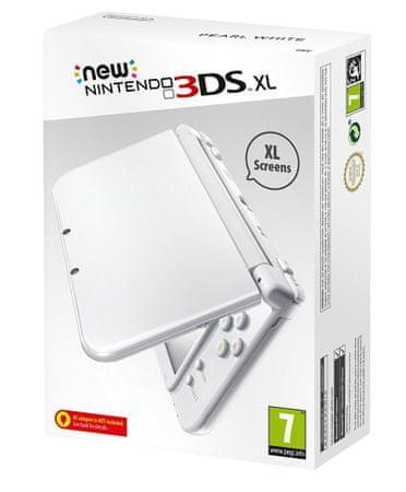 Nintendo konsola New 3DS XL Pearl White