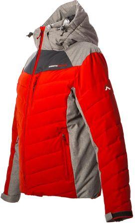 Northfinder jakna Cheyanne, rdeča, XL