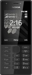 Nokia 216, Dual SIM, Fekete