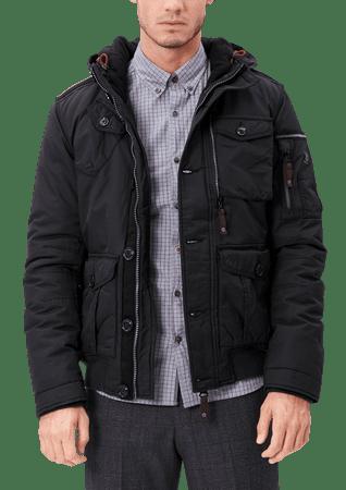 s.Oliver pánská bunda M tmavě šedá