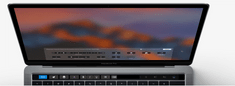 "Apple prijenosno računalo MacBook Pro 15"" Retina Touch Bar/QCi7/16GB/256GBSSD/Rad.Pro450/INT KB, Silver"