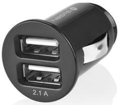 GoGEN CH 21 Autós mobiltöltő, 2 x USB port, Fekete