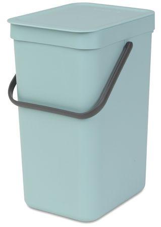 Brabantia kosz na śmieci Sort&Go, 12 l, zielony