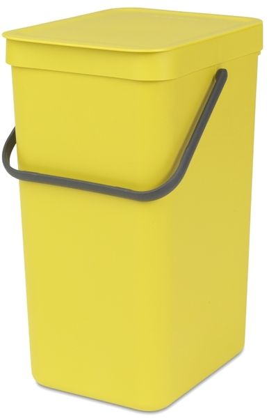 Brabantia Koš Sort & Go 16 l žlutá