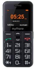 myPhone Halo Easy, černý