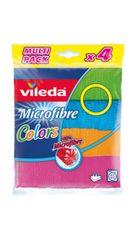 Vileda krpa Microfibre Color 4/1