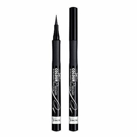 Rimmel Očné linky vo fixu (Colour Precise Eyeliner) 1,1 ml Černý