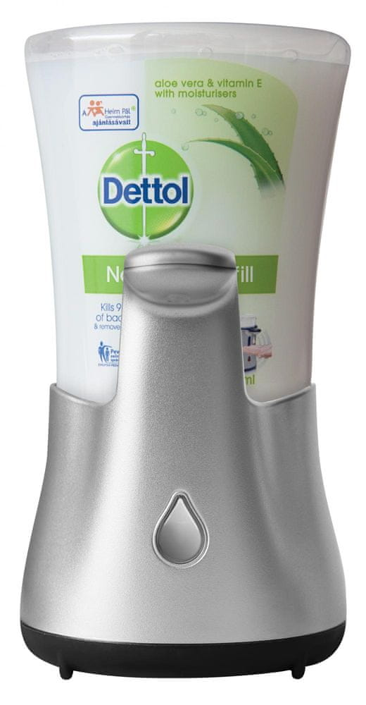 Dettol Bezdotykový dávkovač mýdla Aloe Vera 250 ml
