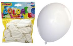 Unikatoy baloni, beli, 24 kosov