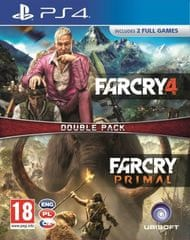 Ubisoft Far Cry Primal + Far Cry 4 / PS4