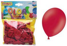 Unikatoy baloni, rdeči, 24 kosov
