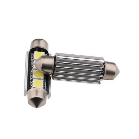 M-LINE žarnica LED 24V C5W 42mm 4xSMD 5050 CANBUS, bela, par
