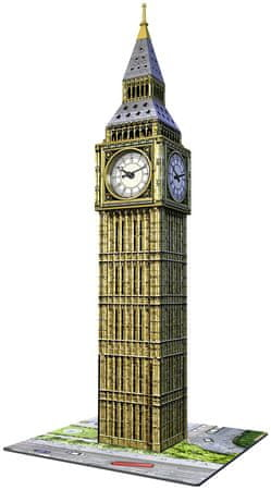 Ravensburger Puzzle 3D Big Ben z zegarem 216 części