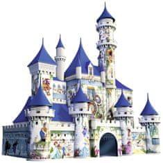 Ravensburger Disney sestavljanka 3D Pravljični grad, 261 delna