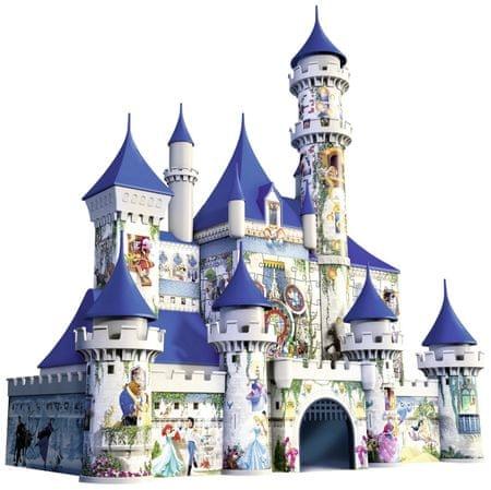 Ravensburger Disney slagalica 3D Magic Castle, 261 dijelna