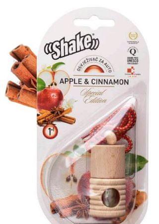 Shake dišava + dodatno polnilo Jabolko & cimet 2/1, 2 x 4,5 ml