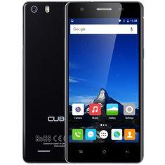 Cubot GSM telefon X16S LTE DualSim, crni + poklon: etui