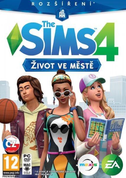EA Games The Sims 4: Život ve městě / PC
