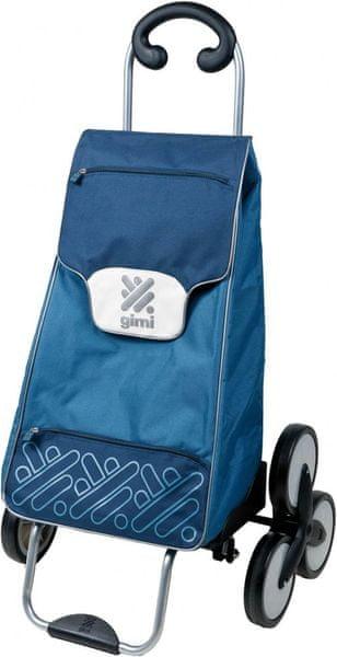 Gimi Tris 48 l nákupní taška na 3 kolečkách modrá