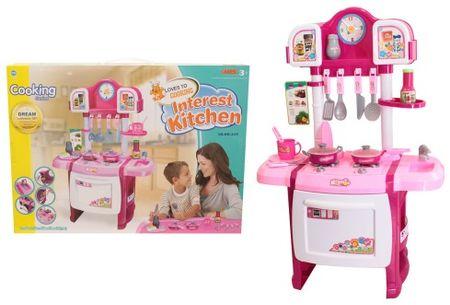 Unikatoy otroška kuhinja Interest, 72 cm