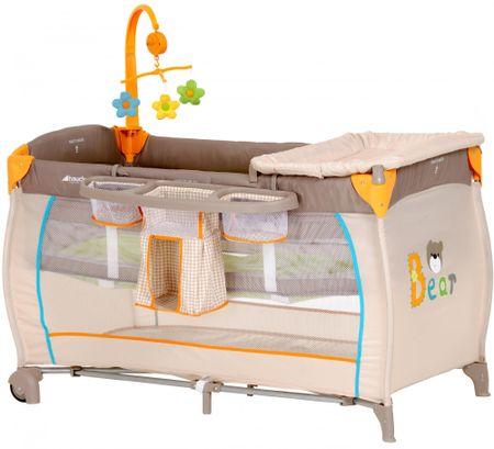Hauck Babycenter 2019 prenosna otroška posteljica, Bear